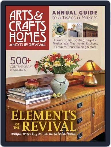 Arts & Crafts Homes (Digital) January 1st, 2015 Issue Cover