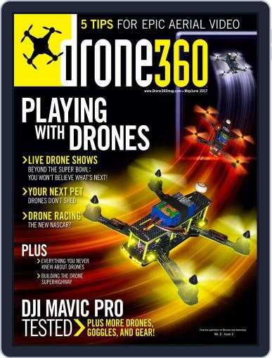 Drone 360 (Digital) May 1st, 2017 Issue Cover