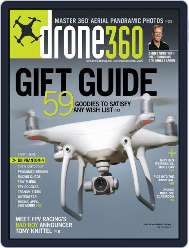Drone 360 (Digital) October 4th, 2016 Issue Cover