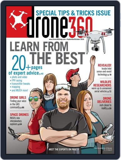 Drone 360 (Digital) August 26th, 2016 Issue Cover