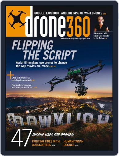 Drone 360 (Digital) June 24th, 2016 Issue Cover