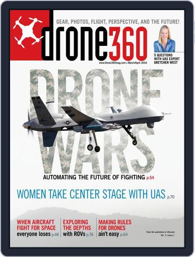 Drone 360 (Digital) February 19th, 2016 Issue Cover