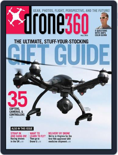 Drone 360 (Digital) October 26th, 2015 Issue Cover