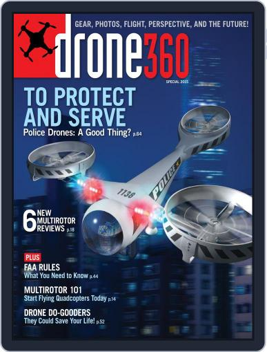Drone 360 (Digital) March 13th, 2015 Issue Cover