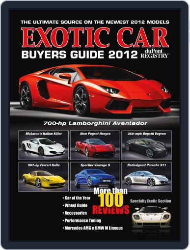 Exotic Car Buyers Guide Magazine (Digital) September 20th, 2011 Issue Cover