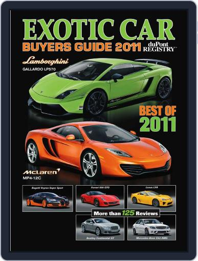 Exotic Car Buyers Guide Magazine (Digital) September 17th, 2010 Issue Cover