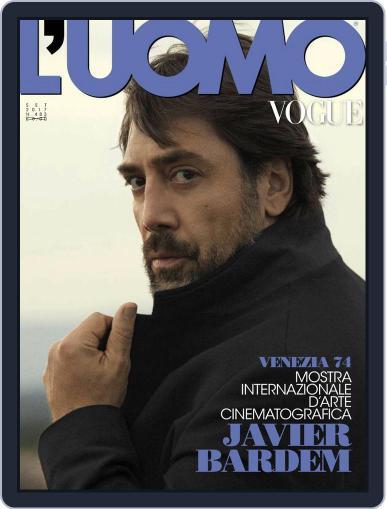 L'uomo Vogue (Digital) September 1st, 2017 Issue Cover