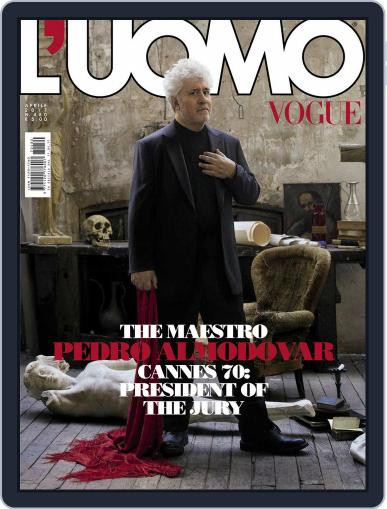 L'uomo Vogue (Digital) April 1st, 2017 Issue Cover