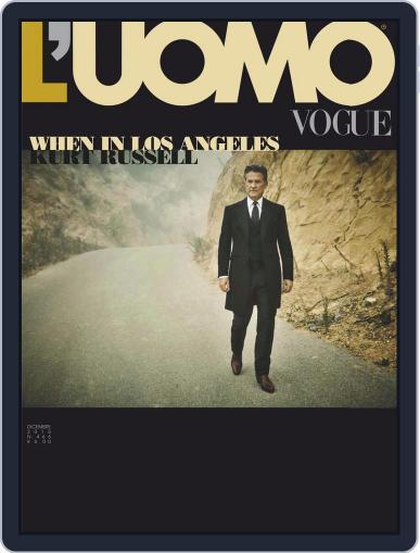 L'uomo Vogue (Digital) December 1st, 2015 Issue Cover