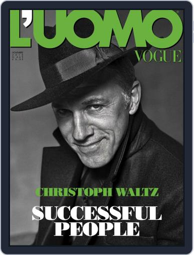 L'uomo Vogue (Digital) November 1st, 2015 Issue Cover