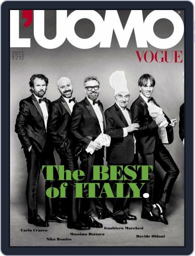 L'uomo Vogue (Digital) April 14th, 2015 Issue Cover