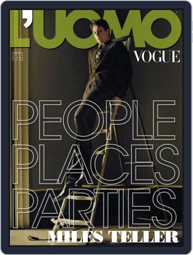 L'uomo Vogue (Digital) February 12th, 2015 Issue Cover