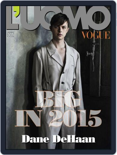 L'uomo Vogue (Digital) January 14th, 2015 Issue Cover