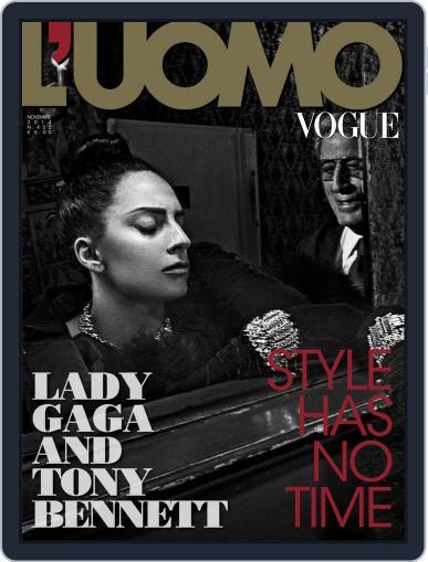 L'uomo Vogue (Digital) November 27th, 2014 Issue Cover
