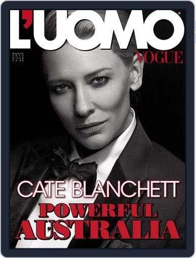 L'uomo Vogue (Digital) March 17th, 2014 Issue Cover