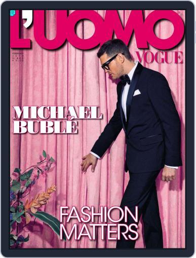 L'uomo Vogue (Digital) February 14th, 2014 Issue Cover