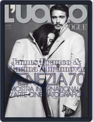 L'uomo Vogue (Digital) Subscription September 2nd, 2013 Issue