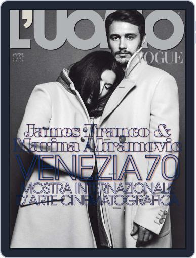L'uomo Vogue (Digital) September 2nd, 2013 Issue Cover