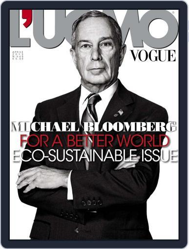 L'uomo Vogue (Digital) April 11th, 2013 Issue Cover
