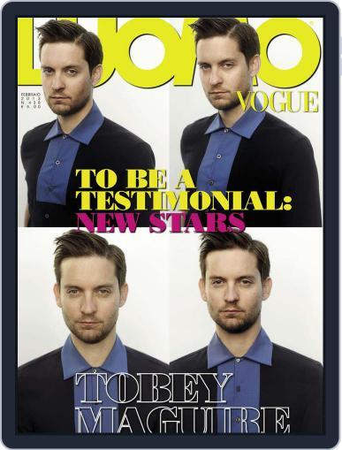 L'uomo Vogue (Digital) February 14th, 2013 Issue Cover
