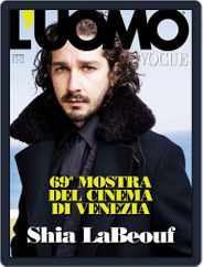L'uomo Vogue (Digital) Subscription September 5th, 2012 Issue