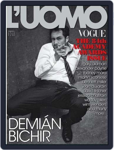 L'uomo Vogue (Digital) February 24th, 2012 Issue Cover