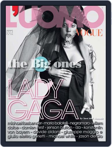 L'uomo Vogue (Digital) January 18th, 2012 Issue Cover