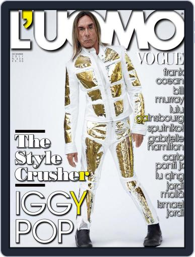 L'uomo Vogue (Digital) December 21st, 2011 Issue Cover
