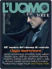 L'uomo Vogue (Digital) Subscription September 19th, 2011 Issue