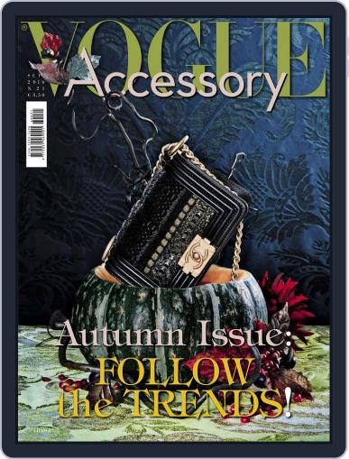 Vogue Accessory (Digital) September 1st, 2016 Issue Cover