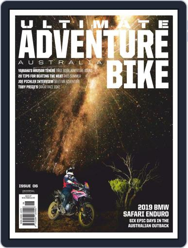 Ultimate Adventure Bike November 1st, 2019 Digital Back Issue Cover