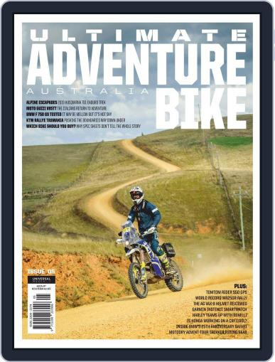 Ultimate Adventure Bike (Digital) August 1st, 2019 Issue Cover
