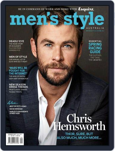 Men's Style Australia (Digital) July 1st, 2017 Issue Cover