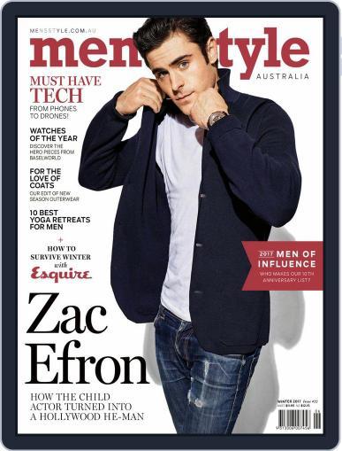 Men's Style Australia (Digital) April 1st, 2017 Issue Cover