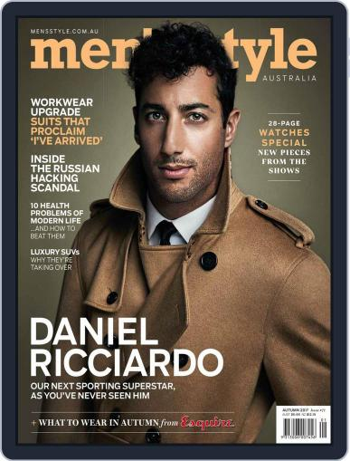 Men's Style Australia (Digital) January 1st, 2017 Issue Cover
