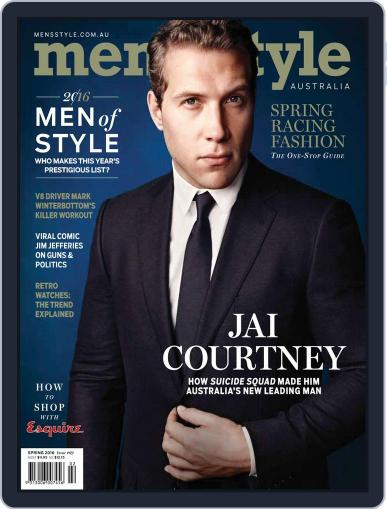 Men's Style Australia (Digital) August 14th, 2016 Issue Cover