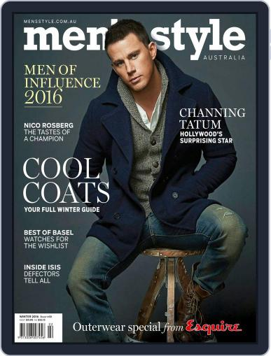 Men's Style Australia (Digital) May 8th, 2016 Issue Cover