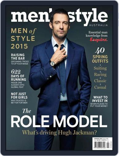 Men's Style Australia (Digital) August 16th, 2015 Issue Cover