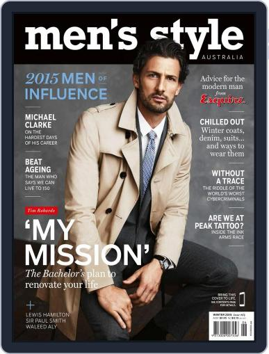 Men's Style Australia (Digital) May 17th, 2015 Issue Cover