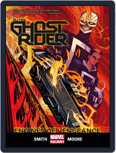 All-New Ghost Rider (2014-2015) (Digital) October 1st, 2014 Issue Cover