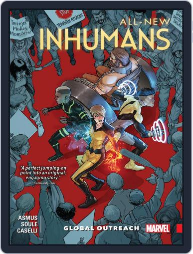 All-New Inhumans (2015-2016) May 18th, 2016 Digital Back Issue Cover