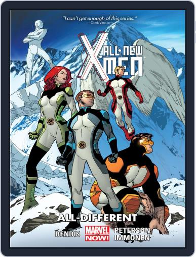 All-New X-Men (2012-2015) (Digital) April 30th, 2014 Issue Cover