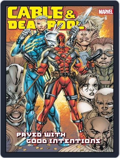 Cable & Deadpool (Digital) February 7th, 2013 Issue Cover