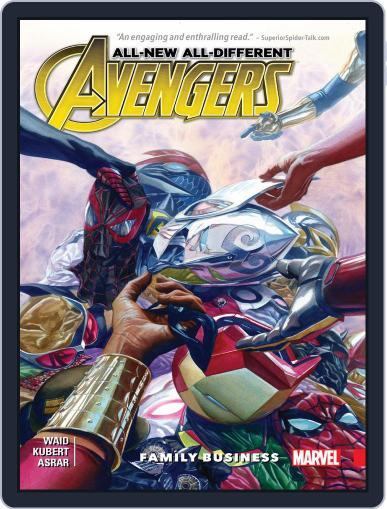 All-New, All-Different Avengers (2015-2016) (Digital) September 28th, 2016 Issue Cover