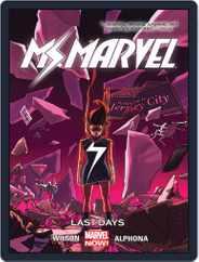 Ms. Marvel (2014-2015) (Digital) Subscription November 18th, 2015 Issue