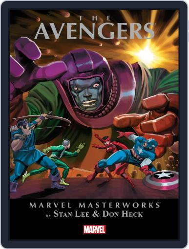 Avengers (1963-1996) January 9th, 2014 Digital Back Issue Cover