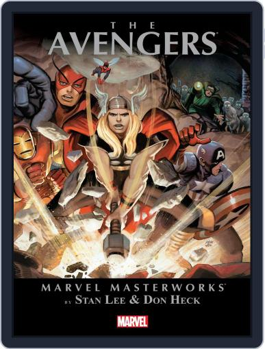 Avengers (1963-1996) August 29th, 2013 Digital Back Issue Cover