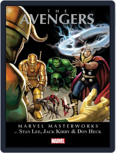 Avengers (1963-1996) March 22nd, 2012 Digital Back Issue Cover