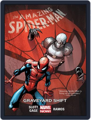 Amazing Spider-Man (2014-2015) (Digital) August 26th, 2015 Issue Cover