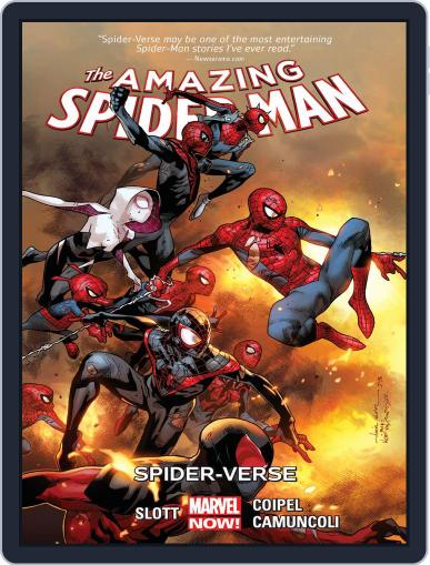 Amazing Spider-Man (2014-2015) (Digital) July 8th, 2015 Issue Cover